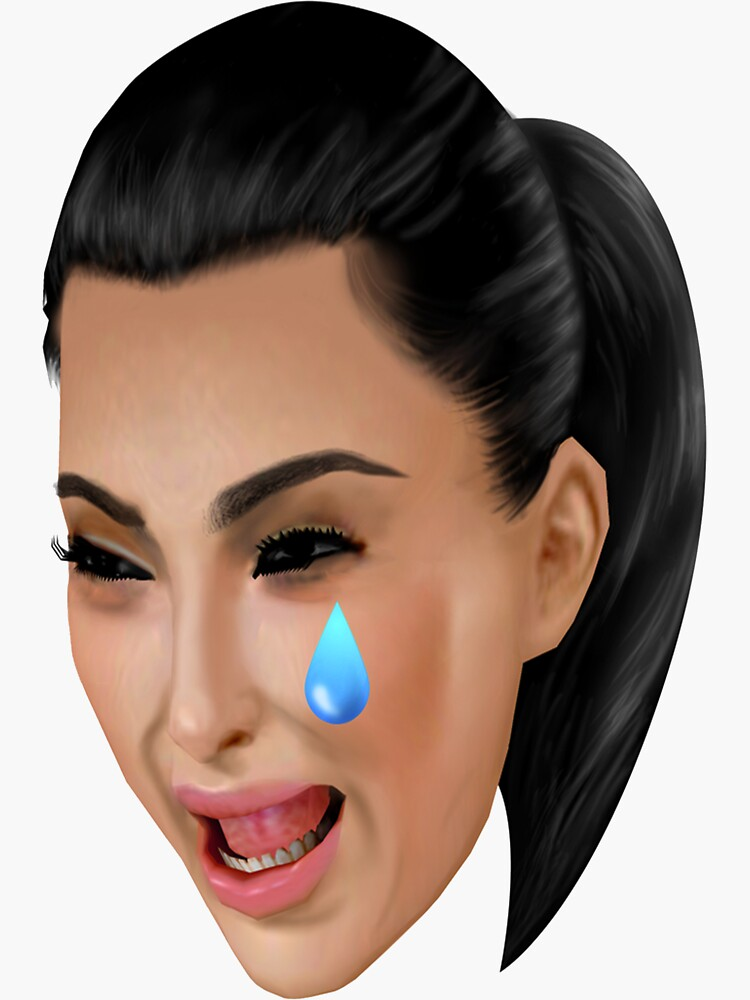 KIM KARDASHIAN CRYING FACE von Micermoncer