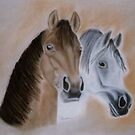 Two Horses by Richard-Gary Butler