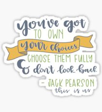 This is Us Quote Sticker