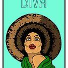 Turquoise Diva by Adam Regester