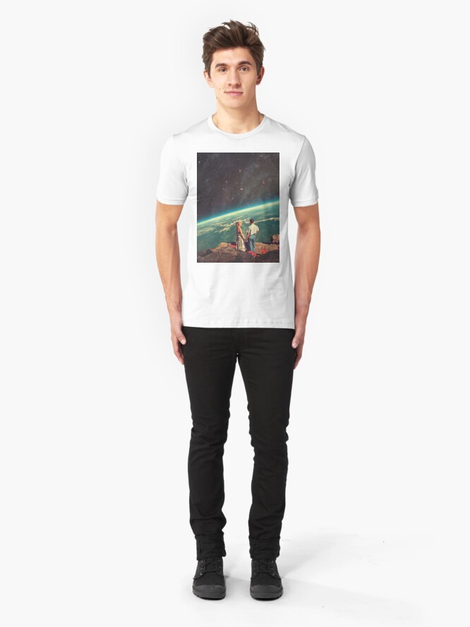 Vista alternativa de Camiseta ajustada Amor