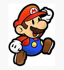 Lámina fotográfica Jumping Mario