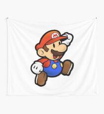 Jumping Mario Wall Tapestry