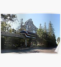 Take a ride on the Monorail Poster