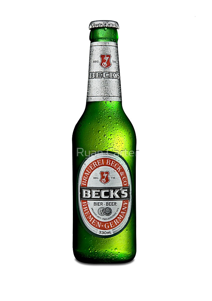 Beck's Beer Bottle by Ryan Carter