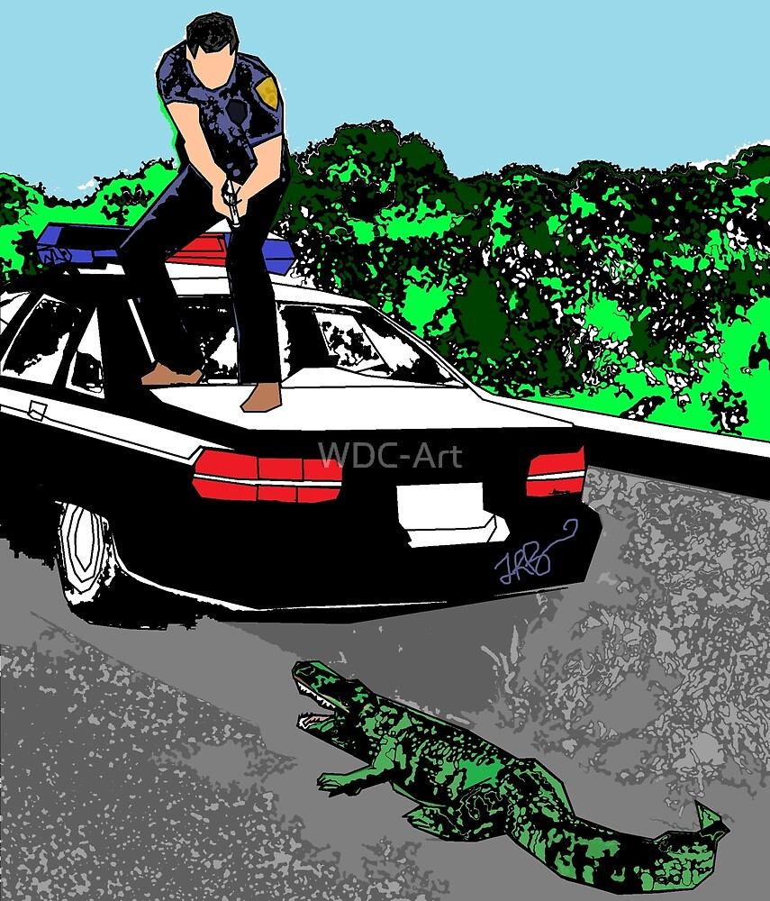 Alligator Crossfire  by WDC-Art