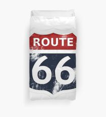 Route 66 My version Duvet Cover
