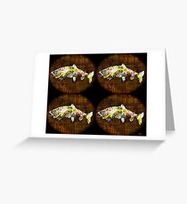 Fish and Bourbon Please Greeting Card