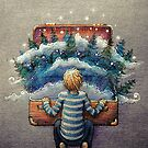 Suitcase Forest by illustore