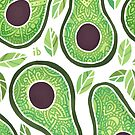 Avocado-Muster von freeminds