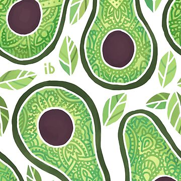 Avocado Pattern by freeminds