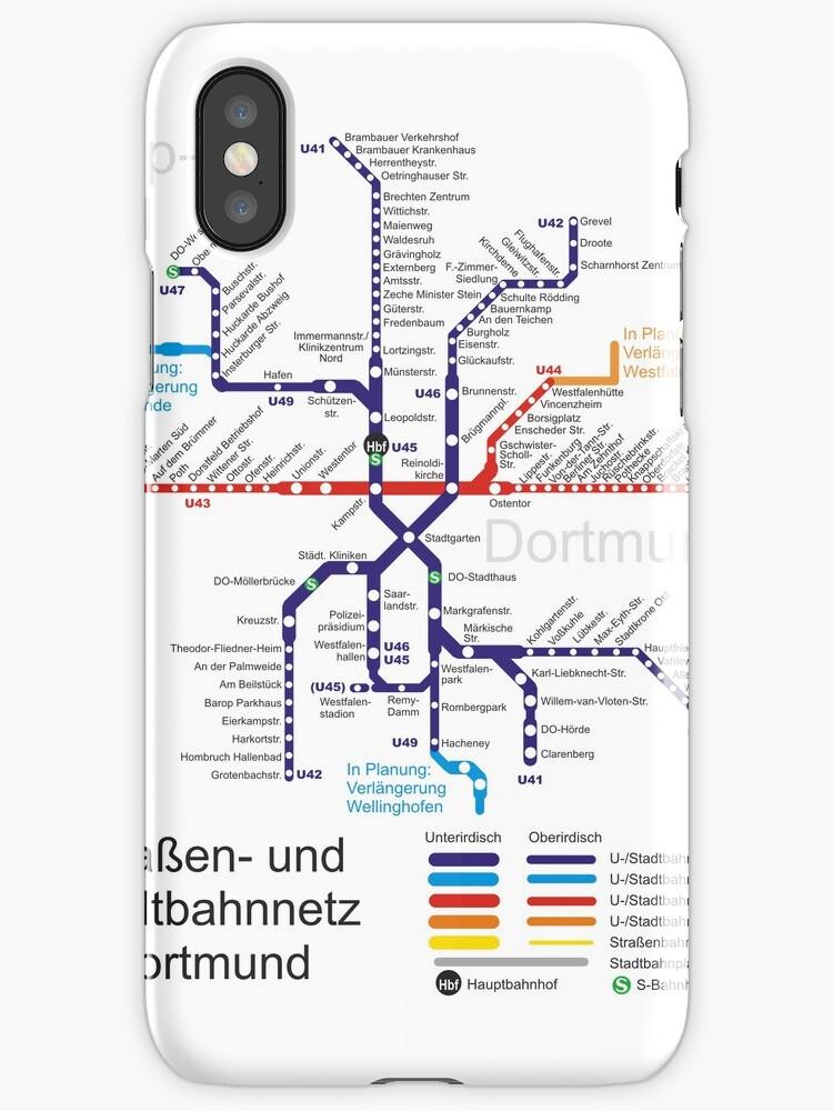 dortmund metro subway u bahn s bahn map germany