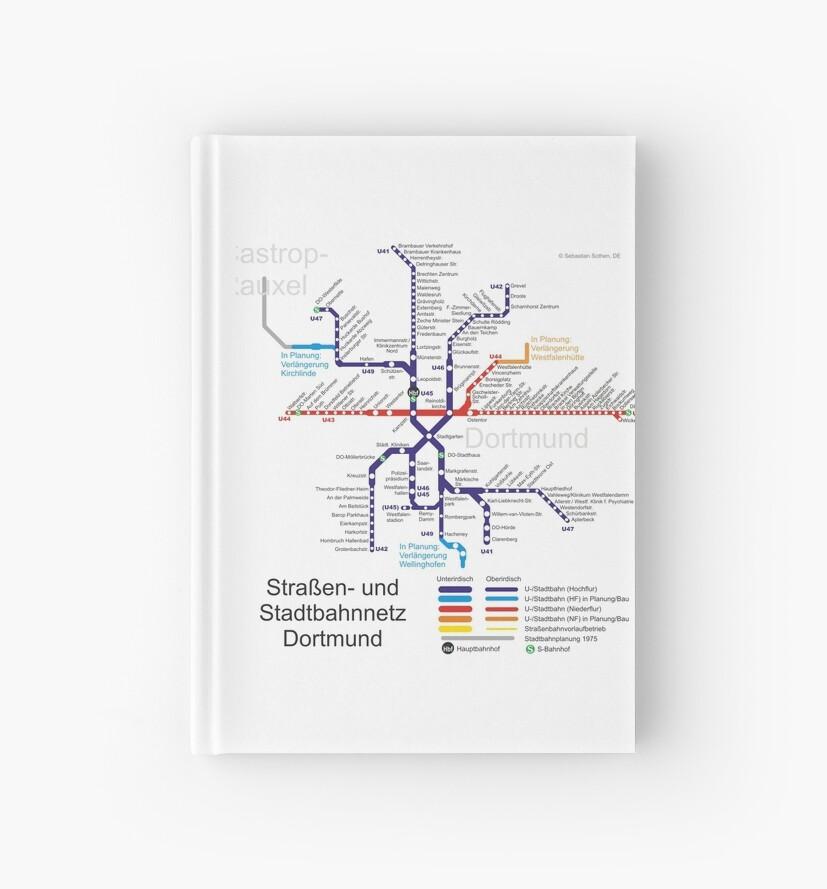 Dortmund On Map Of Germany.Dortmund Metro Subway U Bahn S Bahn Map Germany Hardcover