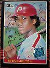 205 - Steve Jeltz by Foob's Baseball Cards