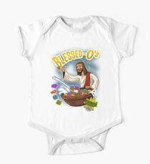 Blessed-O's religion themed cartoon cereal parody shirt One Piece - Short Sleeve
