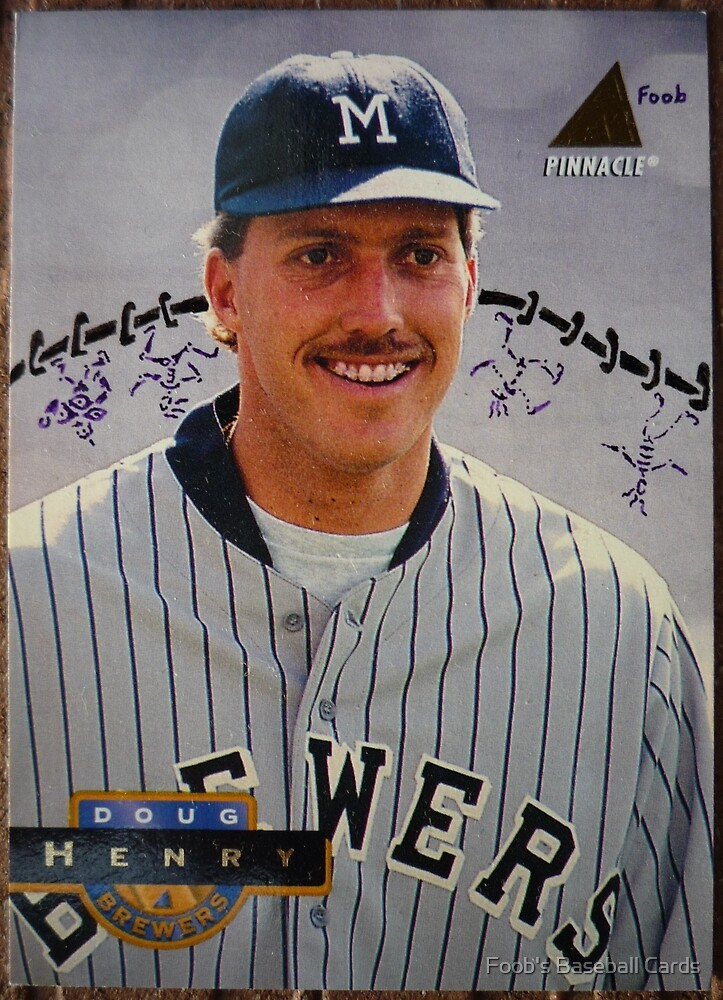 206 - Doug Henry by Foob's Baseball Cards