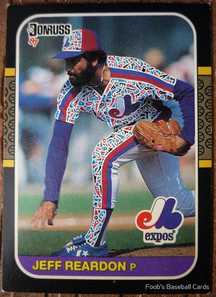 208 - Jeff Reardon by Foob's Baseball Cards