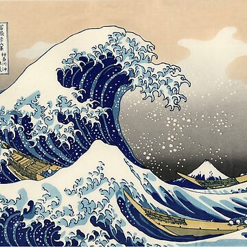 The Great Wave off Kanagawa by charmeur
