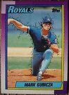214 - Mark Gubicza by Foob's Baseball Cards
