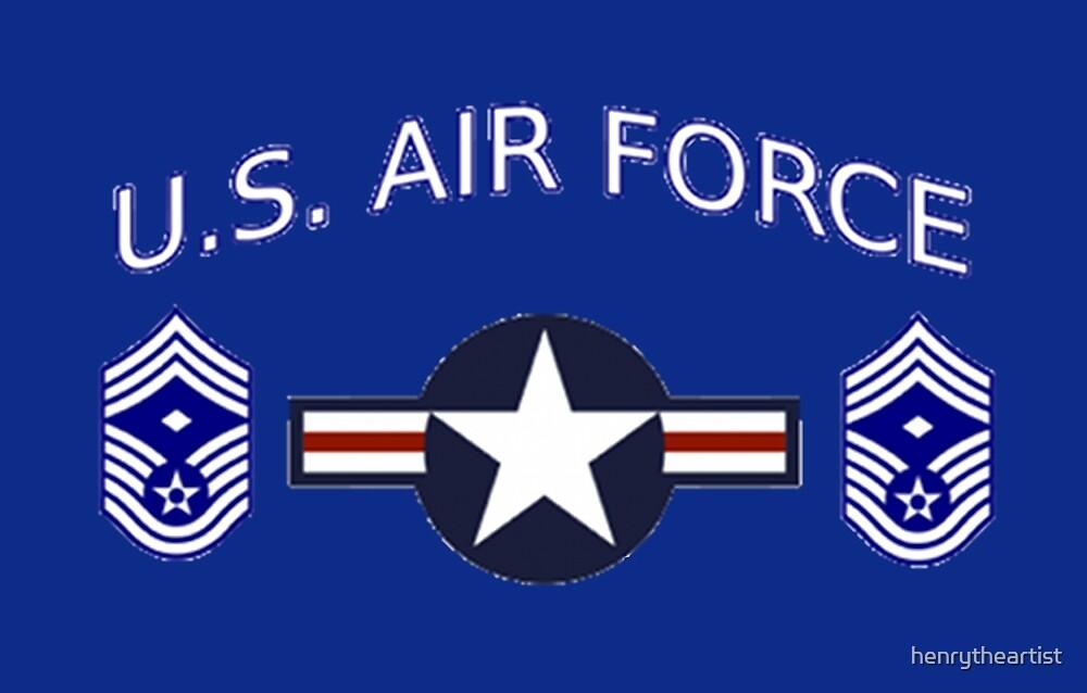 USAF Chief Master Sergeant 1st by henrytheartist