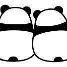 Niedliche Cartoon Panda Paar von irmirx