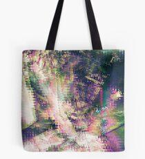 Fragmented Abstract Artwork Tote Bag
