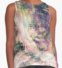 Fragmented Abstract Artwork Contrast Tank