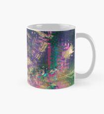 Fragmented Abstract Artwork Mug