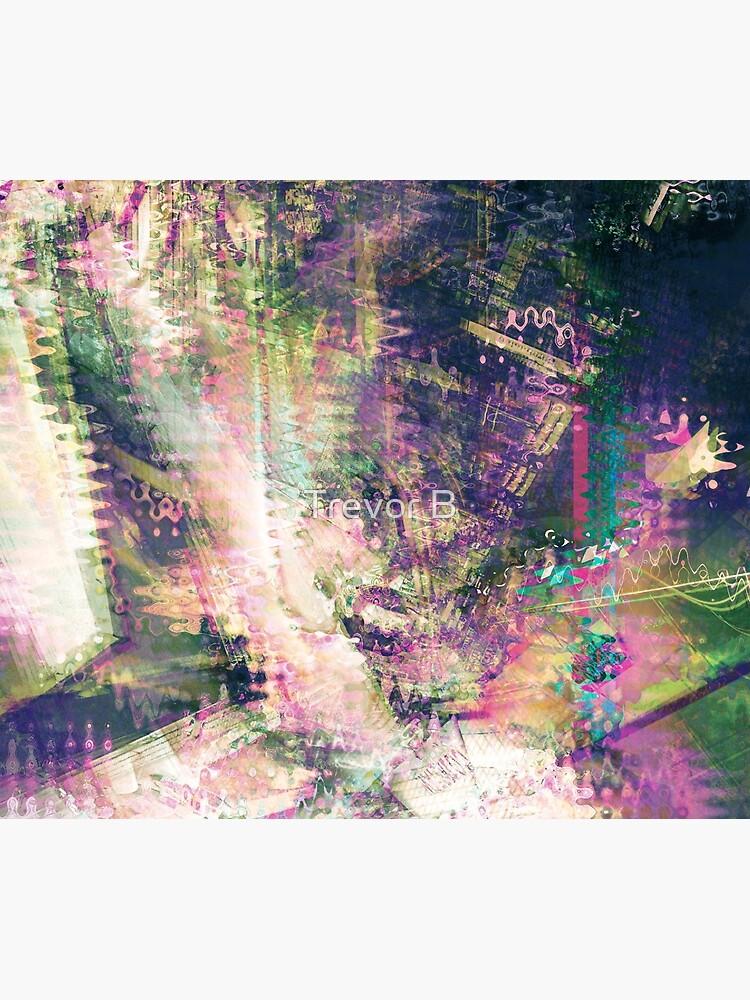 Fragmented Abstract Artwork by CreativeBytes