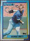 217 - George Brett by Foob's Baseball Cards