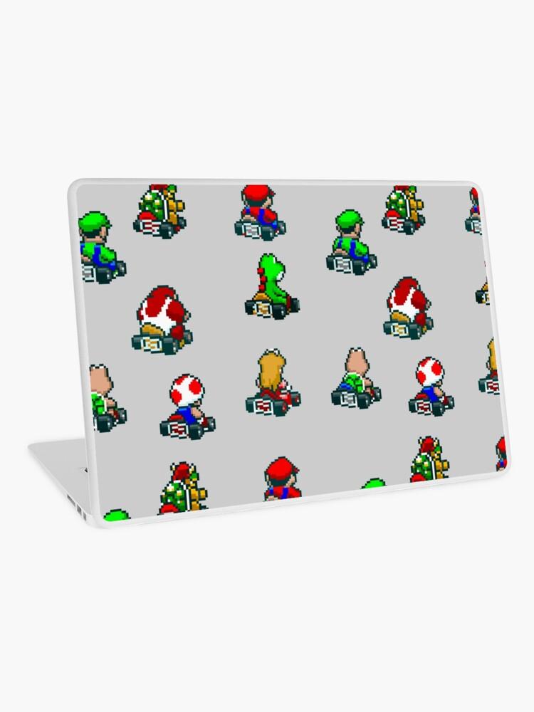 Super Mario Kart / Characters 01 | Laptop Skin