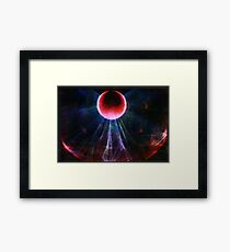 Conceptual Sphere Framed Print