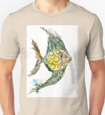 Watercolor fish illustration Unisex T-Shirt
