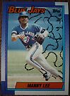 220 - Manny Lee by Foob's Baseball Cards