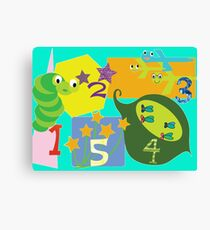 Larravide Counting Fun  Canvas Print