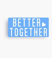 Jack Johnson - Better Together Canvas Print