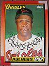 222 - Frank Robinson by Foob's Baseball Cards