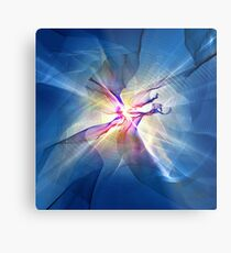 Galaxy Abstract Art Metal Print