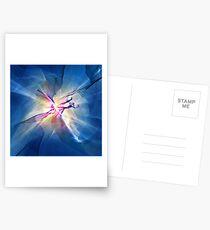 Galaxy Abstract Art Postcards
