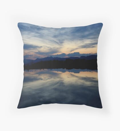 Reflections, Drakensberg, Free State Throw Pillow