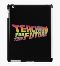 Teach for the Future iPad Case/Skin