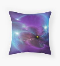 Gravitational Distort Space Abstract Art Throw Pillow