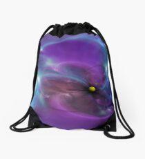 Gravitational Distort Space Abstract Art Drawstring Bag
