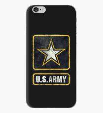 Ultra-Vintage US Army Emblem iPhone Case