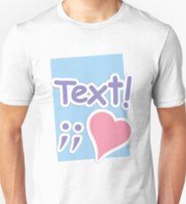 Text;; Unisex T-Shirt