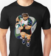 ADAM LIKES TO PLAY RUGBY Unisex T-Shirt