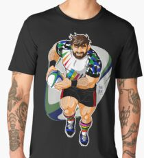 ADAM LIKES TO PLAY RUGBY Men's Premium T-Shirt