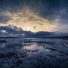 Mudeford Quay @ Twilight by martin bullimore