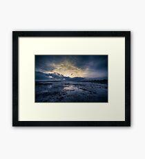 Mudeford Quay @ Twilight Framed Print