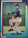 225 - Jose Alvarez by Foob's Baseball Cards